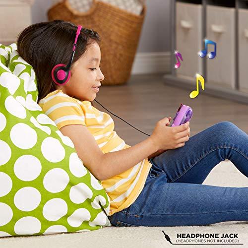 51TMCgqSMKL - LeapFrog RockIt Twist Handheld Learning Game System, Purple