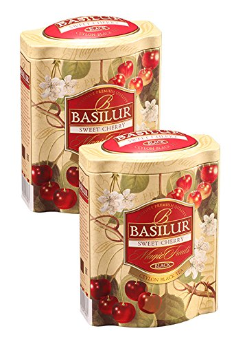 Basilur Cherry Fruits Ultra Premium