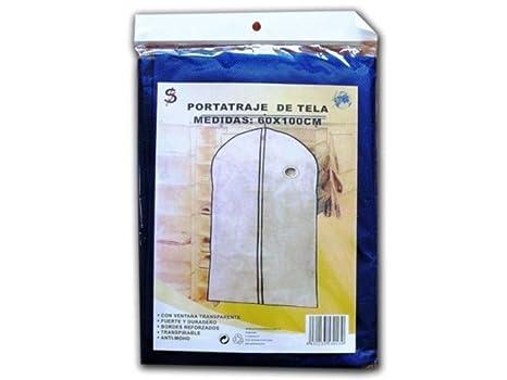 SUMIN.RAYO Funda Porta Traje Tela 60x100cm: Amazon.es: Hogar