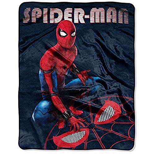 Marvel Spiderman Silk Touch Throw Blanket