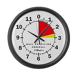 CafePress - Altimeter (Galaxy) - Large 17 Round Wall Clock, Unique Decorative Clock