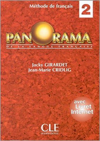 Lire un Panorama, 2 : méthode de français. Livre de l'élève epub, pdf