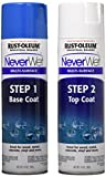 Rust-Oleum 275185 Never Wet 14-Ounce Industrial Size Multi Purpose Liquid Repelling Treatment Kit- Base and Top coat
