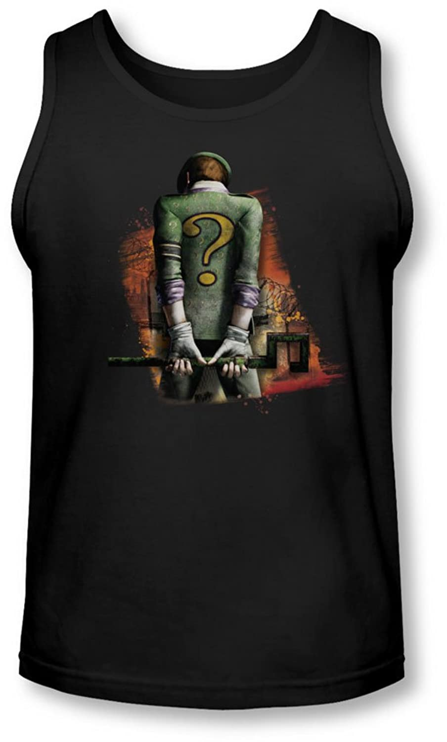 Arkham City - Mens Riddler Convicted Tank-Top