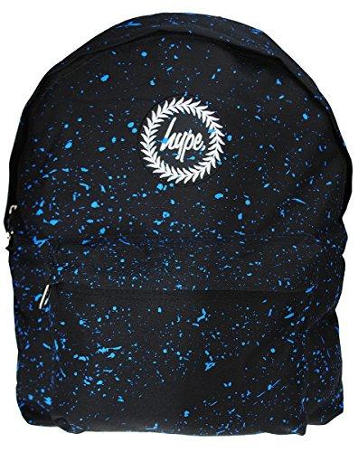 Mochila Hype Speckle Backpack Negro/Celeste
