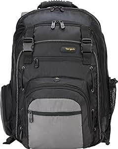 Targus CityGear Backpack Case for 17 Inch Notebooks TCG216  (Black with Grey)