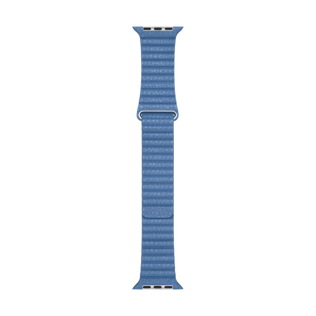 Apple Watch Leather Loop (44mm) - Cornflower - Large