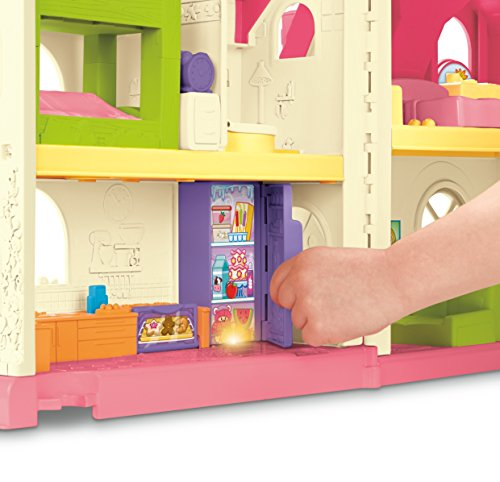 51TMHuViqyL - Fisher-Price Little People Surprise & Sounds Home Playset