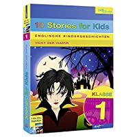 Englische Kindergeschichten, 10 Stories for Kids, Klasse 1: Vicky der Vampir