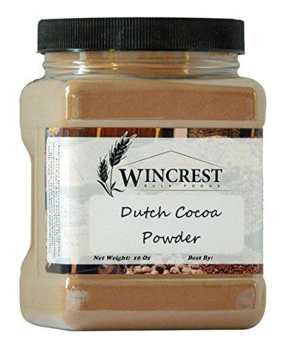 Red Cocoa (Premium Dutch Processed Cocoa Powder - 1 Lb Container)