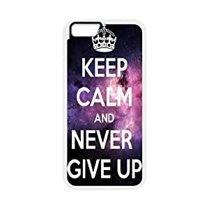 "Never Give Up Design Discount Personalized Hard Case Cover for iPhone6 4.7"", Never Give Up iPhone6 4.7"
