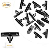 GOOACC 25PCS Fender Flare Moulding Clips for Jeep