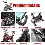Fnova-Cyclette-Fitness-Bicicletta-da-Spinning-Bike-Professionale-Palestra-con-Cardiofrequenzimetro-Display-LCD-Sensori-di-Pulsazioni-Super-Mute-Cardio-Trainer