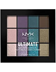 NYX Professional Makeup Ultimate Multi-Finish Shadow Palet, Oogschaduw-palet, Smoke Screen 07