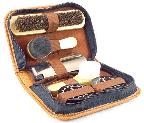 MARZ Products Shoe Care Kit Shine Leather Boots