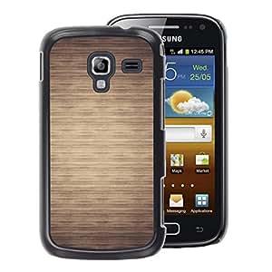 A-type Arte & diseño plástico duro Fundas Cover Cubre Hard Case Cover para Samsung Galaxy Ace 2 (Pattern Beige Minimalist Horizontal)