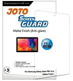 JOTO - Samsung Galaxy Tab Pro 12.2 Tablet Screen Protector Film Anti Glare, Anti Fingerprint (Matte Finish) with Lifetime Replacement Warranty, SM-T900 / SM-T905, TabPRO 12.2 (3 Pack)