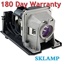 Sklamp NP13LP / NP18LP Replacement Lmap Bulb with Housing for NEC NP110 NP115 NP216,NP-V300X V300X,Select NP Series Projectors