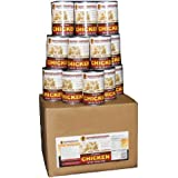 Survivalcavefood Chicken- 14.5 oz can - Full Case (12 cans)