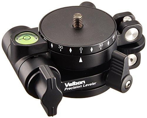 Velbon レベリングユニット&パノラマヘッド Precision Leveler プレシジョンレベラー マグネシウム製 408464