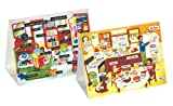 : Lauri Tabletop Magnetic English/Spanish Vocabulary Set