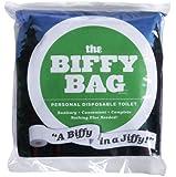 Biffy Bag Pocket Size Disposable Toilet, Classic
