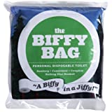 Biffy Bag Pocket Size Disposable Toilet, Classic