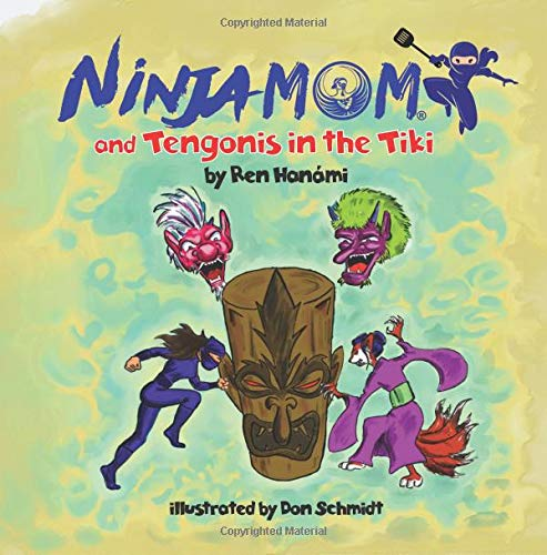 Ninja Mom and Tengonis in the Tiki: Amazon.es: Ren Hanami ...
