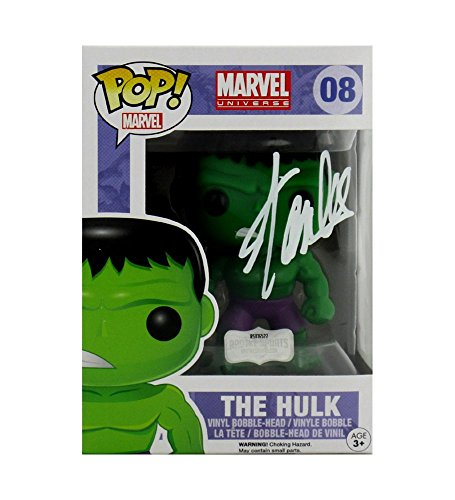 Stan Lee Autographed/Signed Funko Pop! Marvel Series Incredible Hulk #08 Action Figure