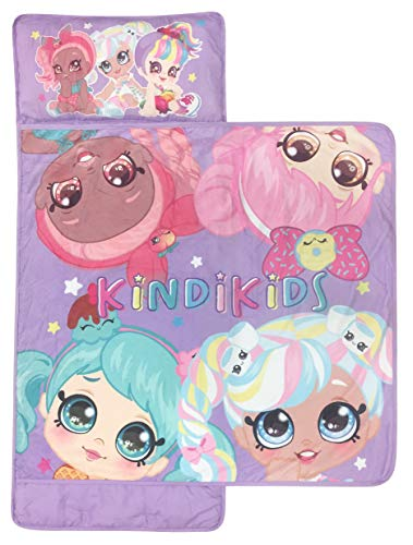 Kindi Kids Best Friends Nap Mat - Built-in Pillow