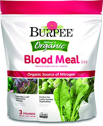 Burpee 99961 Organic Blood Meal Fertilizer, 3 lb