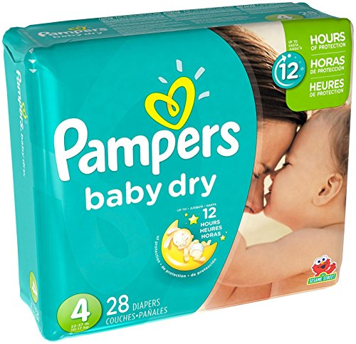 pampers baby dry size 2 - 9