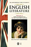 img - for English Literature An Anthology for Students book / textbook / text book