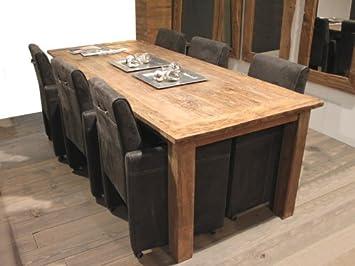 Wooden Affairs Esstisch Santoso   Tisch Aus Altem Holz Antikes Teakholz  200x100cm