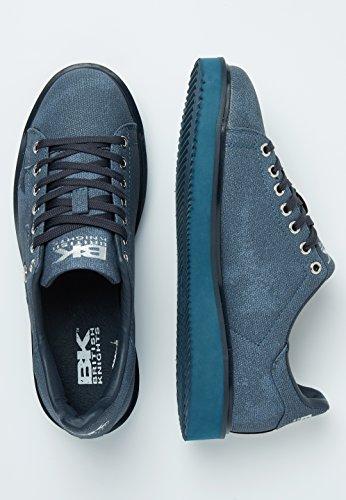 Glow Knights Blu British Navy Sneakers Bassa Donne ZSxqa5