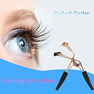 heytech Eyelash Curler for Pinching & Pulling Free With Refill Pad Designed Get the Gorgeous Eyelash