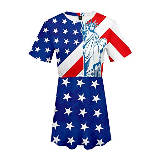 Women American Flag July 4th American Flag Printed Tank Top Camo Sleeveless Tunic Summer Plus Size Shirt (Small, Style 4)
