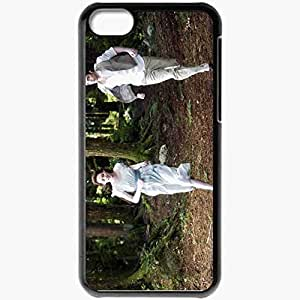 Personalized iPhone 5C Cell phone Case/Cover Skin Alices vision movies Black