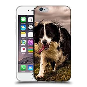 """Super Galaxy Coque de Protection TPU Silicone Case pour // V00000847 Patrón del perro de perrito // Apple iPhone 6 6S 6G PLUS 5.5"""""""