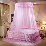 Korean Princess Ceiling Ceiling Stand Mosquito Nose Round Sleeve Floor Lace Palace Student Student Plus Extra Large-A D