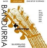 CUERDAS BANDURRIA - Galli (BA125) (Juego Completo) Cuerdas Dobles