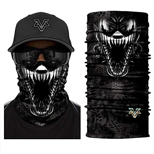 Bandana 3D Venom Spider Masks Scarfs Movie Scarf Mask Tube Neck Face Lower Half Motorcycle Bicycle Shield Sun Air Soft Hiking Paintball Headwear No.216 -