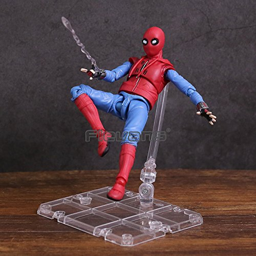 Spider Man Bed Tent - Spider Man Homecoming Spiderman Home Made Suit Ver. with Stand PVC Action Figure Collectible Model Toy