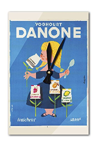 danone-vintage-poster-artist-gauthier-france-c-1955-acrylic-wall-clock