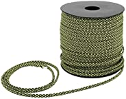 Camping Lanyard, 7 Core Paracord, 50M 4MM Thick 200kg Camping Rope, for Tent Ropes Bracelets