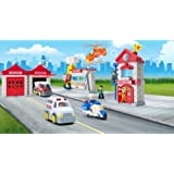 Happy Kid Toy Group Fire Department Playset by Happy Kid Toy Group Ltd