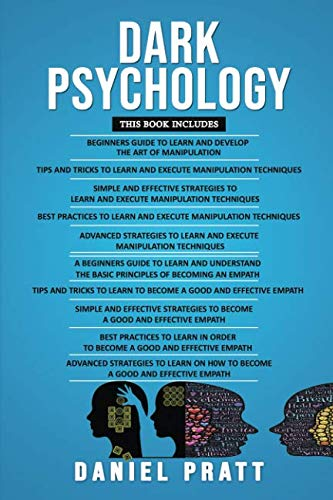 Dark Psychology: 10 Books in 1- 5 Books of Manipulation+ 5 Books of Empath