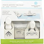 Martha Stewart Crafts Punch Around The Page™ Juego de Perforadora, Encaje con torbellinos