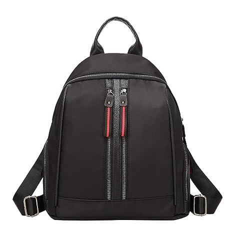 cb5e0481719c Amazon.com: DCRYWRX Oxford Cloth Backpack Waterproof Cloth Nylon ...
