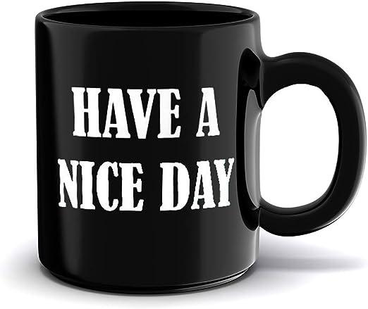 Taza de té Sunny Day negro Black Thomas porcelana nuevo